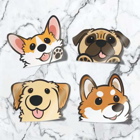 🐕 Ultimate Peekabork Stickers Bundle
