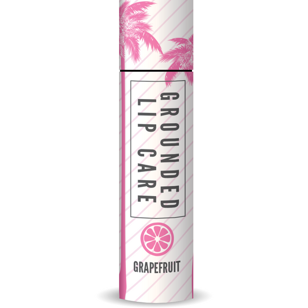 Zesty 100% Natural Grapefruit Lip Balm (4g)