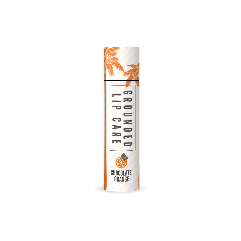 Cocoa Extract Chocolate Orange Lip Balm (4g)