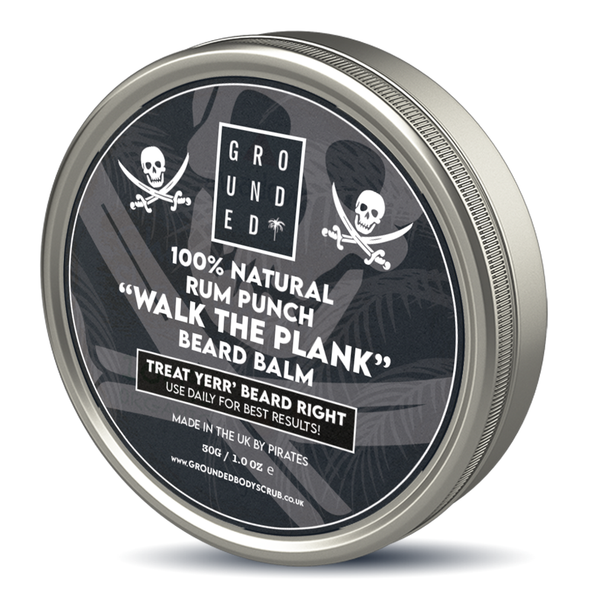 "100% NATURAL RUM PUNCH ""Walk the plank"" Beard Balm"