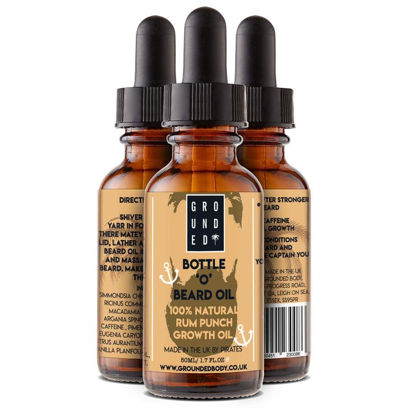 Caffeinated Beard Growth & Conditioning Oil