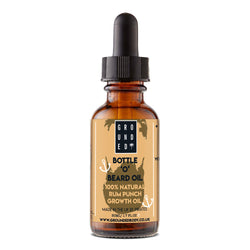 Caffeinated Bottle 'O' Beard Growth & Conditioning Oil - 100% Natural for silky soft beards