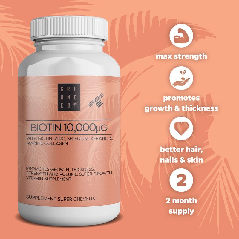 Biotin Immune, Body and Beauty Health Supplements