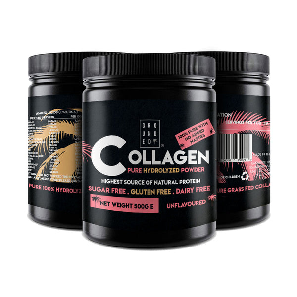 New Grounded Pure Hydrolyzed Collagen Powder
