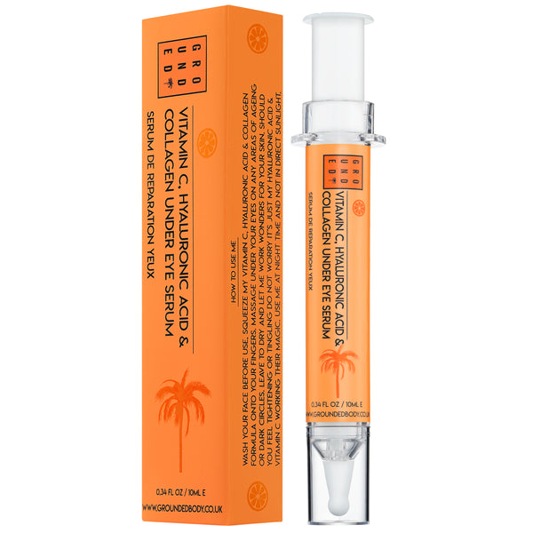 Under Eye Serum with Collagen, Vitamin C and Hyaluronic Acid - To perk up those peepers (10ml)