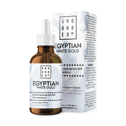 Egyptian White Gold, Glycolic Acid Serum 10% With Vitamin E version