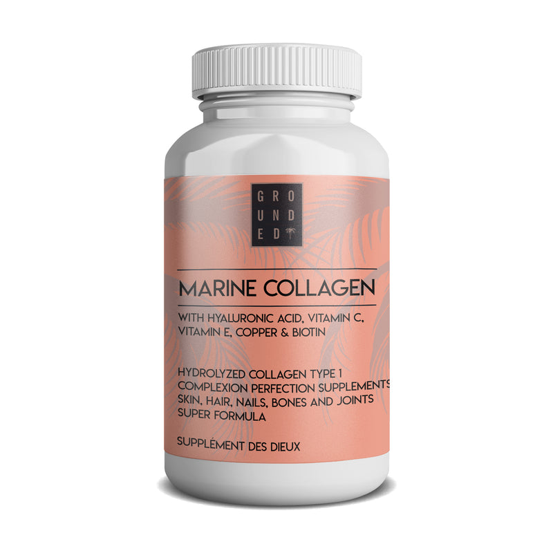 Marine Collage & Hyaluronic Acid Immune Support and Complexion Perfection Supplements