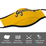 Aguilas Yellow Face Cover Ordinary Face Cover for Women and Men