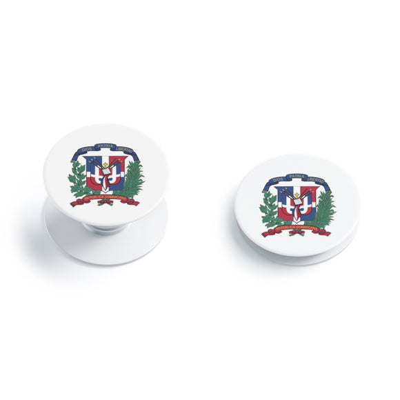 Dominican Republic Flag Escudo Pop socket