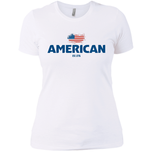American Made Ladies' Boyfriend T Shirt