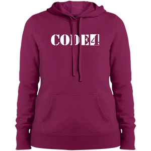 code4 Ladies' Pullover Hooded Sweatshirt
