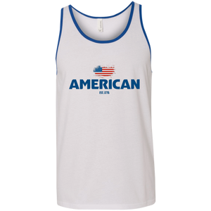 American Made Unisex workout Tank top
