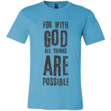 For with God all things are possible Light garment