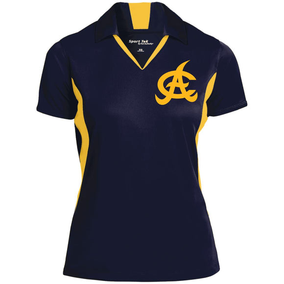 Aguilas Ladies' Colorblock Performance Polo Shirt