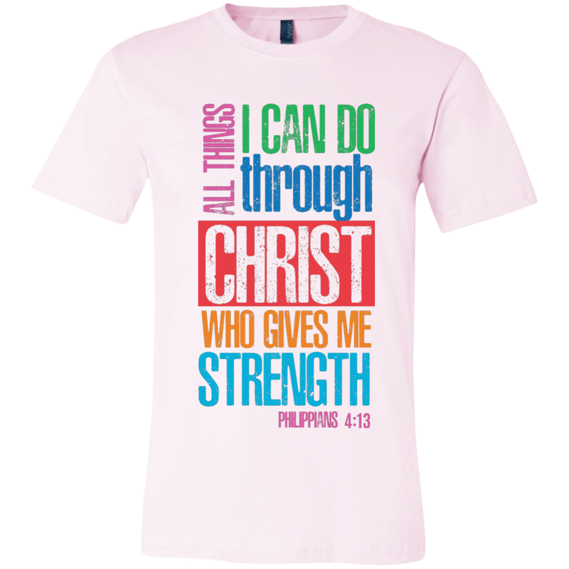 Christ who gives me strength