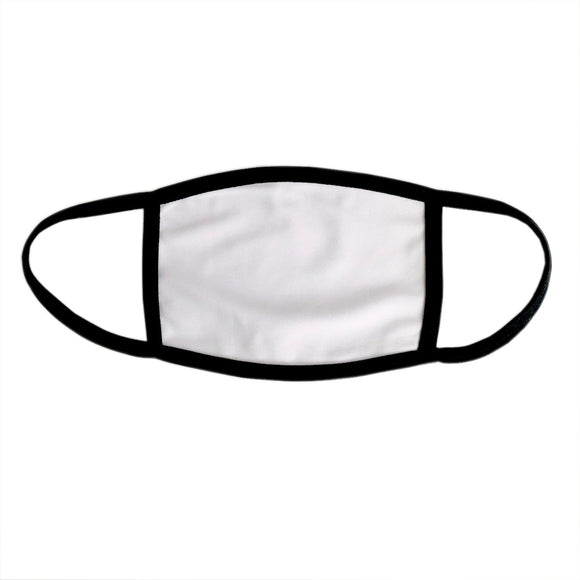 Medium Sublimation Blank Face Mask filter pocket