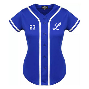 Licey Womens Blue Jersey for sports fans