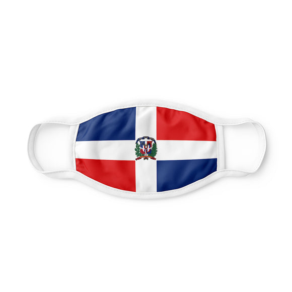 La Bandera Republica Dominicana Mascarilla Tapaboca Face Mask Cover Re-Usable