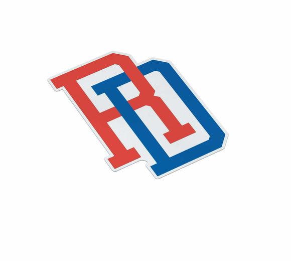 Dominican Republic RD Sticker