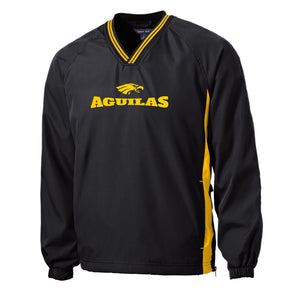 Aguilas Wind Shirt Jacket Black Gold