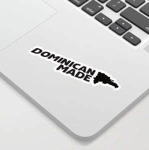 Dominican Made sticker