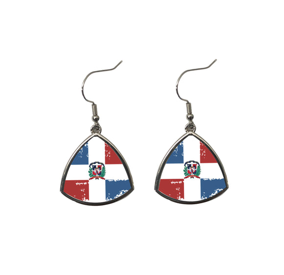 Dominicana Fashion Sports Earrings