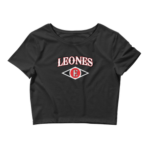Leones del Escogido Black Women's Crop Tee