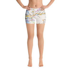 NYC Transit Map on Shorts