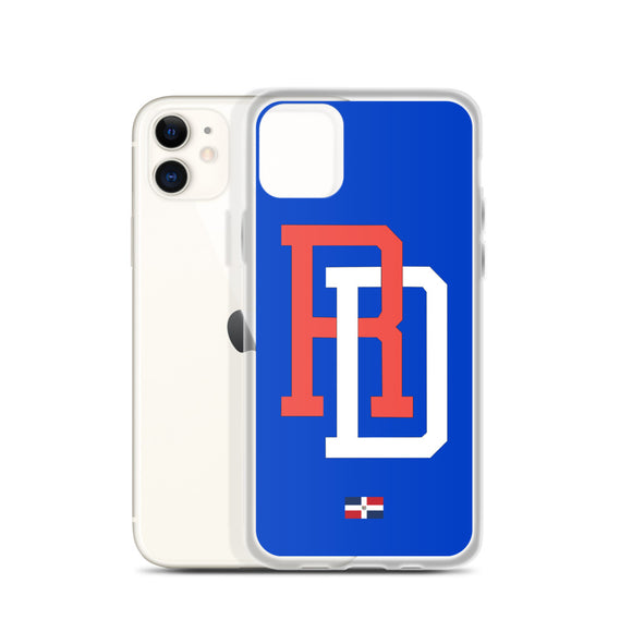 Republica Dominicana Baseball iPhone Case