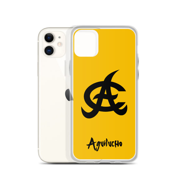 Aguilas Yellow iPhone Case