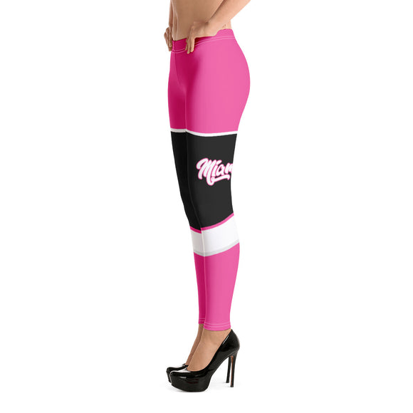 Miami Heat sports uniforms leggings