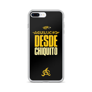 Aguilucho desde chiquito iPhone case