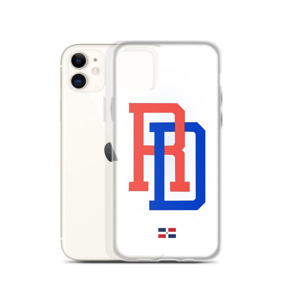 Dominican Republic Baseball Team RD iPhone Case