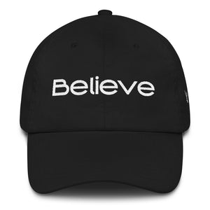 Believe Inspirational Dad hat