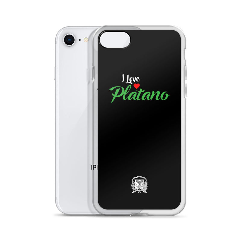 I Love Platano iPhone Case
