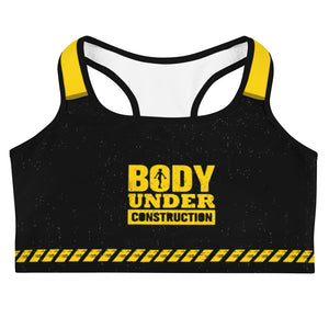 Under Construction Sportwear Sports bra