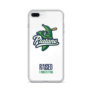 Raised a Puro Platano iPhone Case
