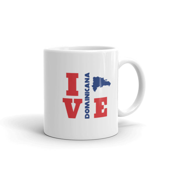 I Love Dominicana Coffee Mug