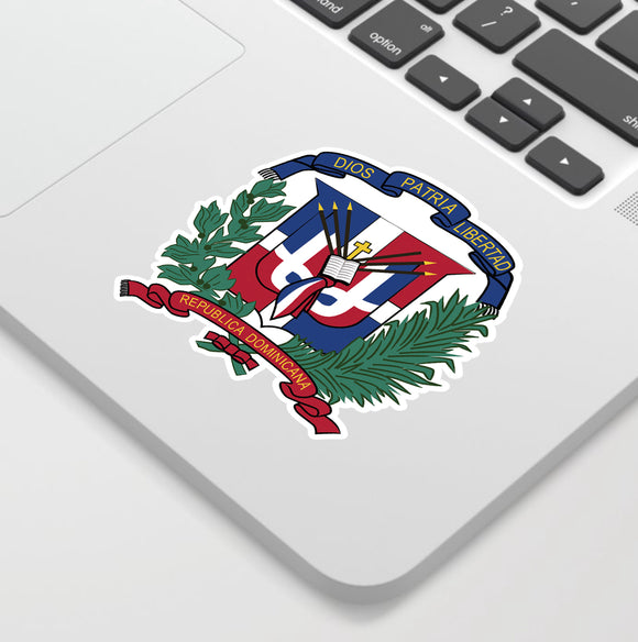 Dominican Shield  sticker