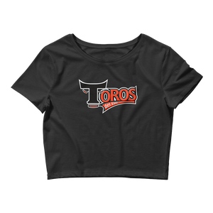 Toros de este Black Women's Crop Tee