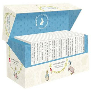 The World of Peter Rabbit 23 Box Set White Jacket: The Complete Collection