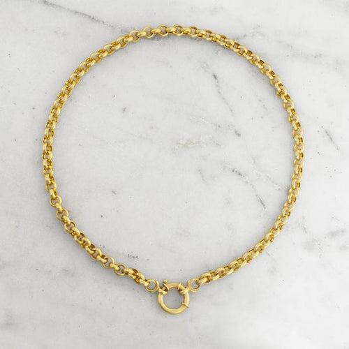 Oasis Rolo Chain Gold Plated