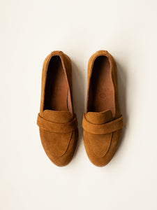 Kula Loafer Milk Chocolate Suede