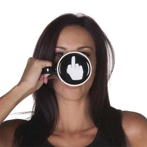 Mug Middle Finger