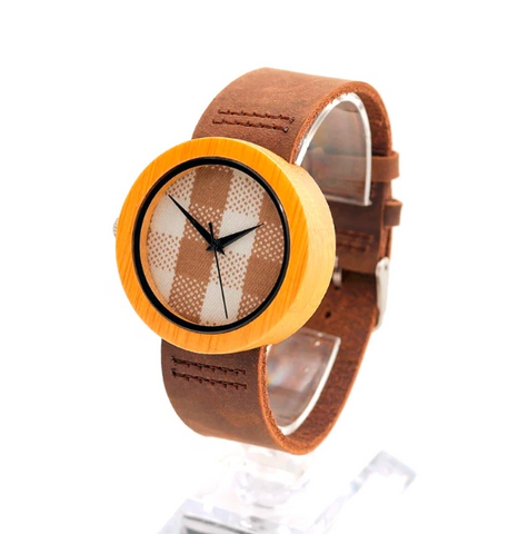 Montre en bois - Kitchy