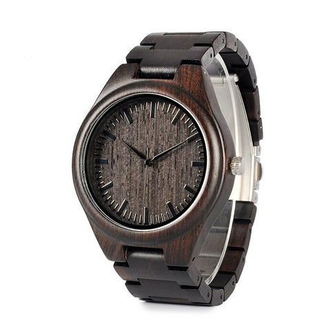 Montre en bois - Black Forest