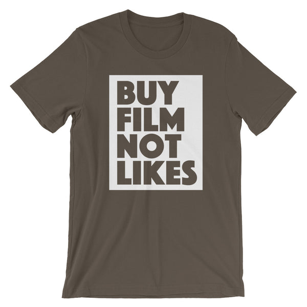 Buy Film Not Likes - Analog Photography T-Shirt