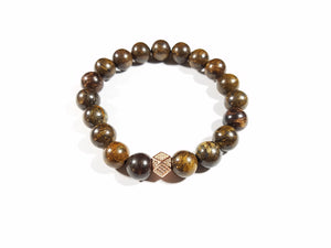 Bronzite Earth Bracelet