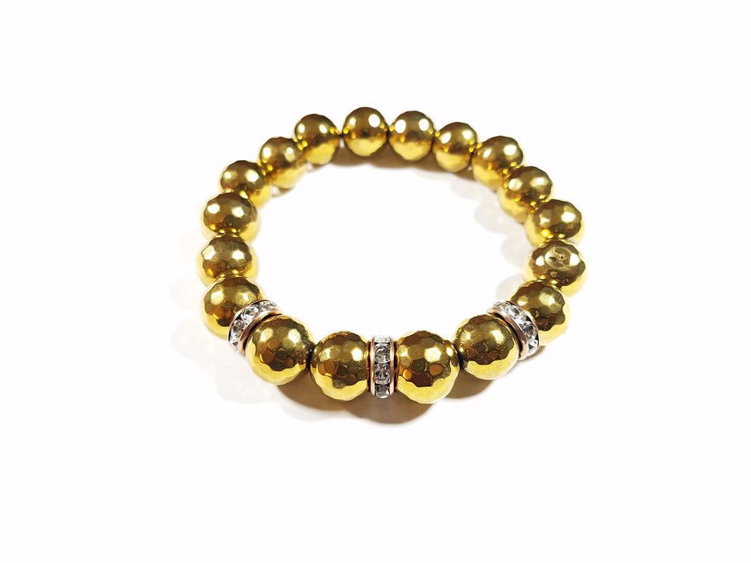 Gold Rush Trio Bracelet