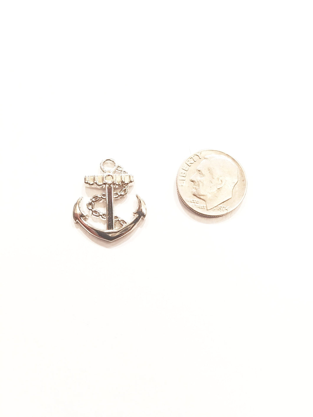 Anchor Silver Lapel Pin